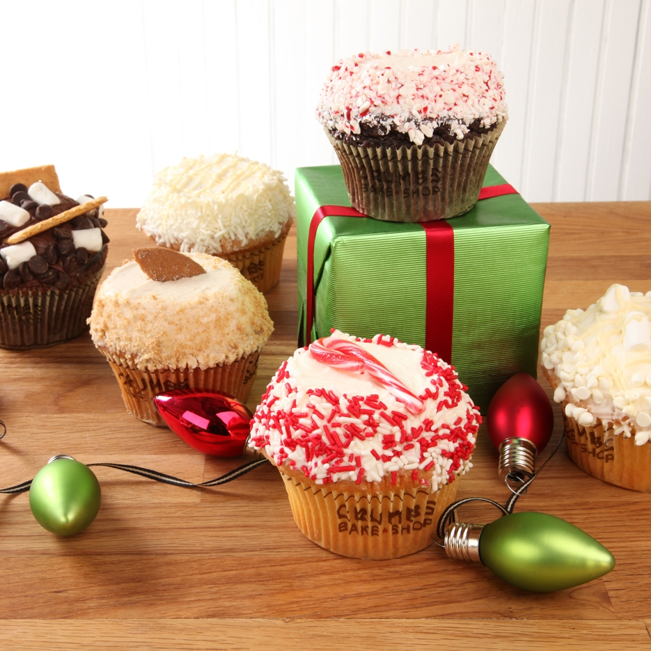 Christmas cupcakes. Photo: CRUMBS Bake Shop
