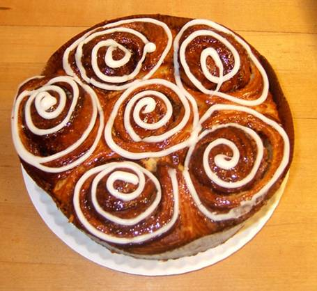 Fairway Cinnamon Buns: Photo: Fairway.