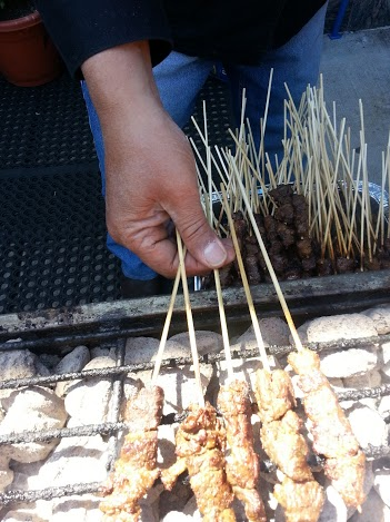Indonesia skewer hands great